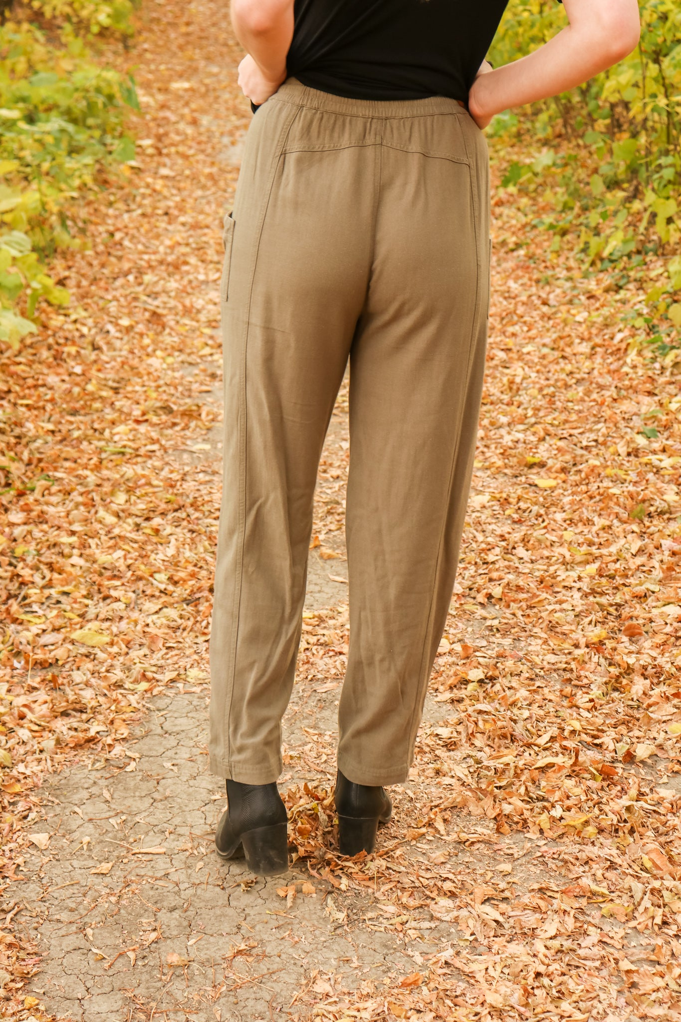 Olive These Pants 3 - JQ Clothing Co. - Oakes ND