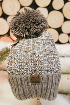 Snowflake Pom Beanie 1 - JQ Clothing Co. - Oakes, ND