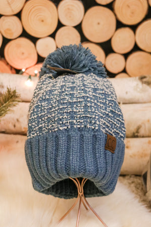 Snowflake Pom Beanie 4 - JQ Clothing Co. - Oakes, ND