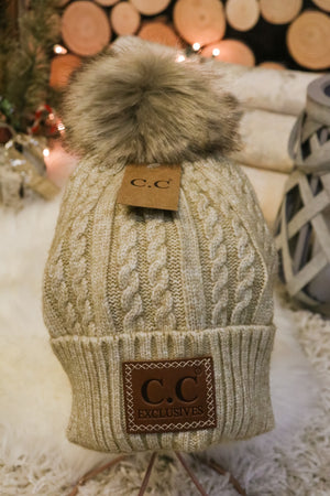 Caroling Fur Pom Beanie 5 - JQ Clothing Co. - Oakes, ND