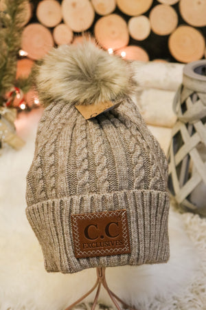 Caroling Fur Pom Beanie 6 - JQ Clothing Co. - Oakes, ND
