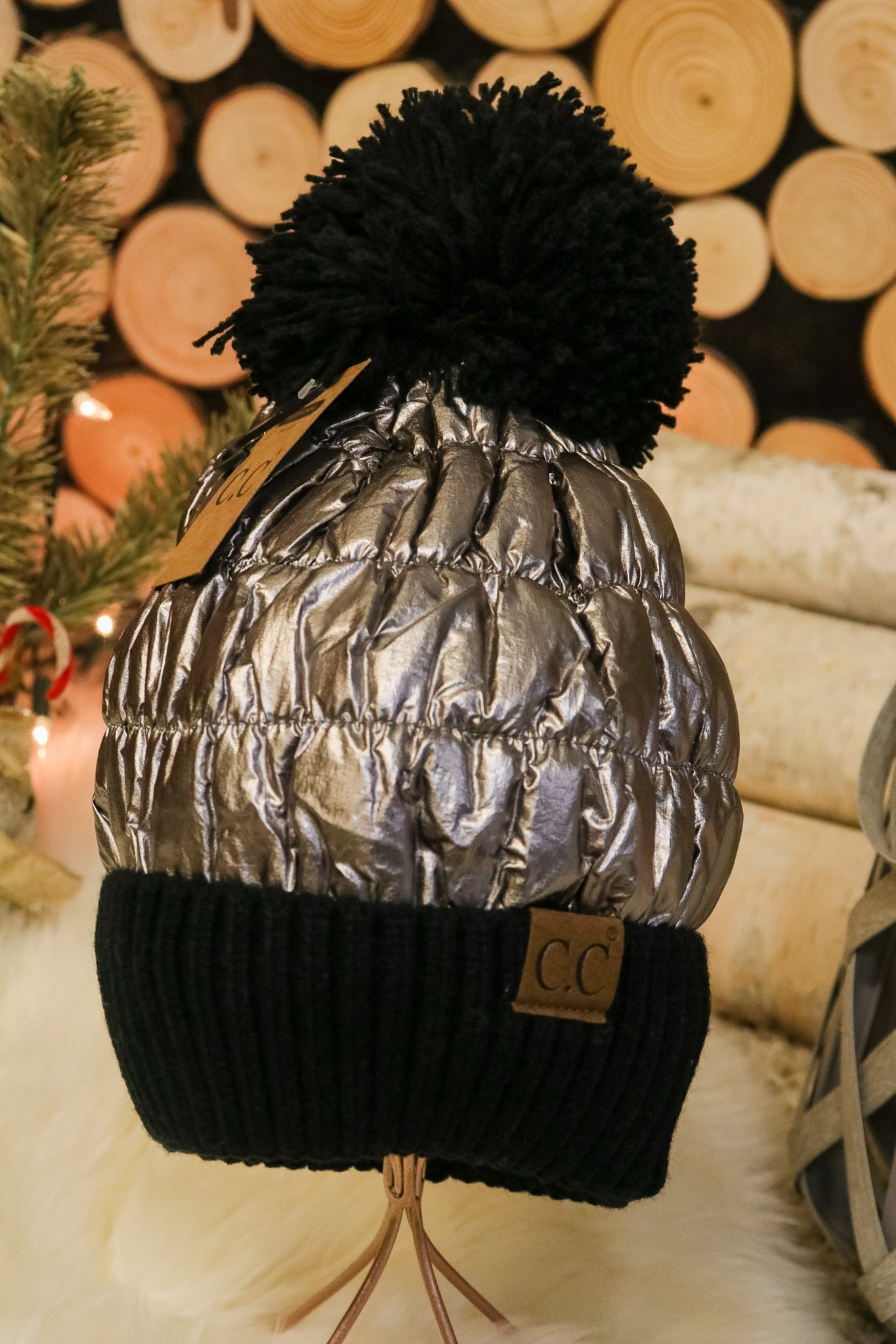 Starlight Pom Beanie 1 - JQ Clothing Co. - Oakes, ND