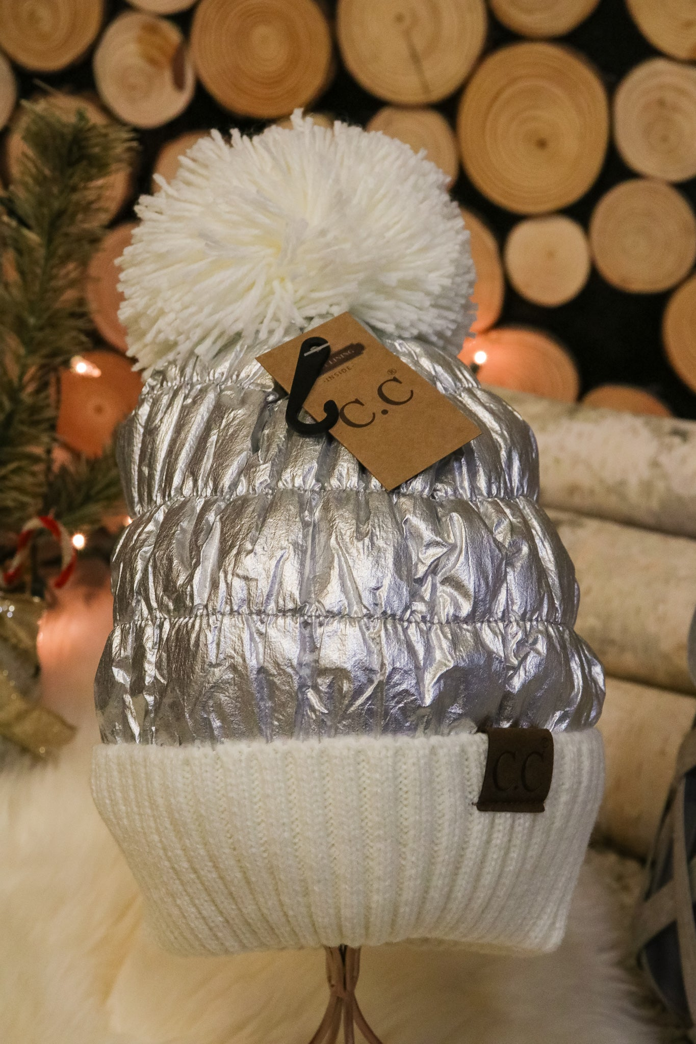 Starlight Pom Beanie 3 - JQ Clothing Co. - Oakes, ND