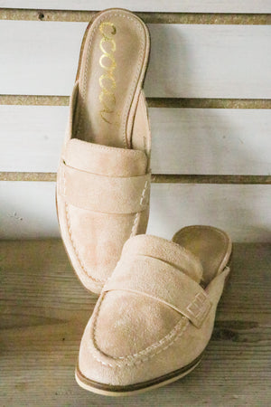 Step Up Taupe Mules 1 - JQ Clothing Co. - Oakes, ND