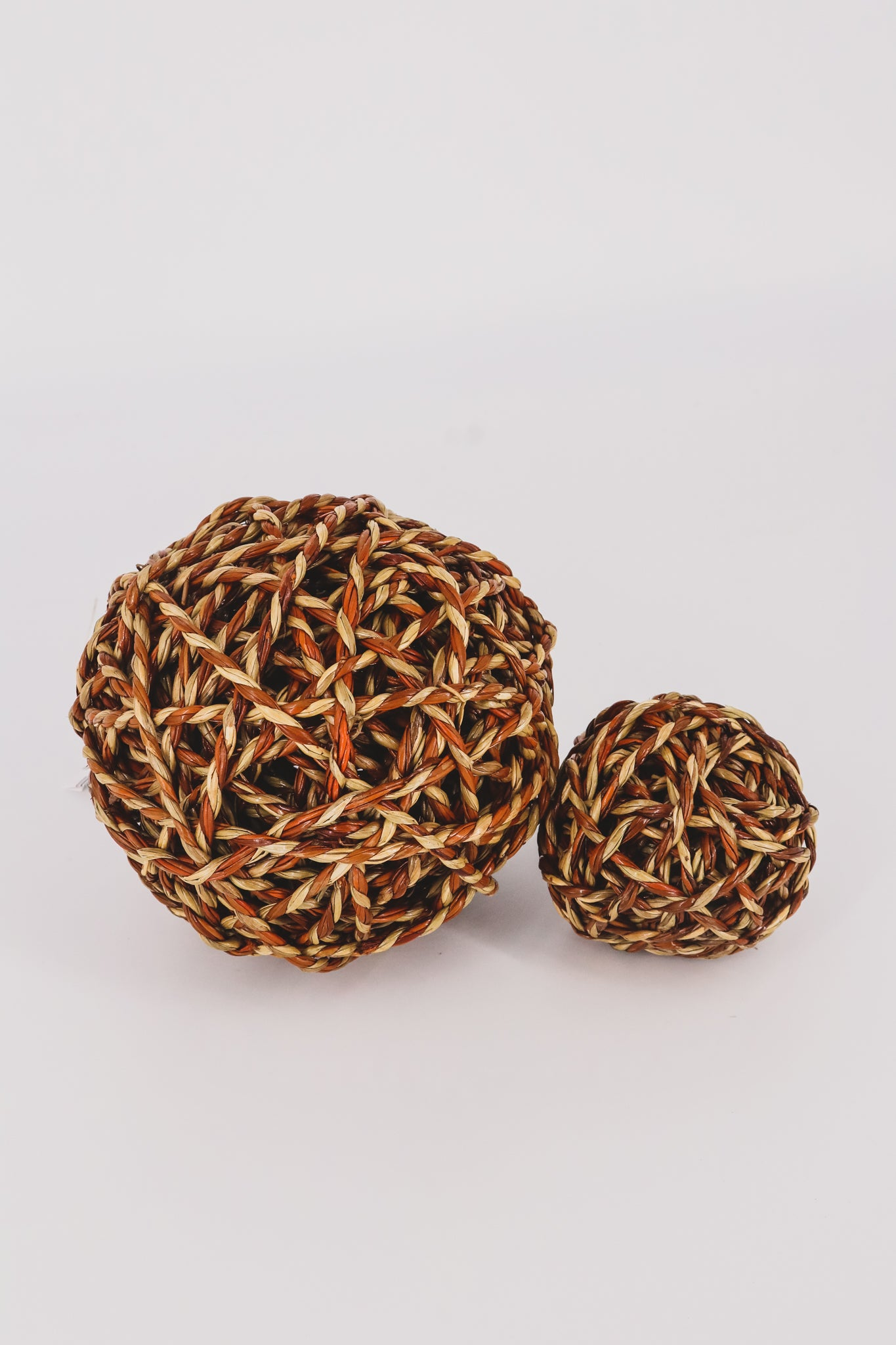 Natural Fiber Woven Orb 1 - JQ Clothing Co. - Oakes, ND