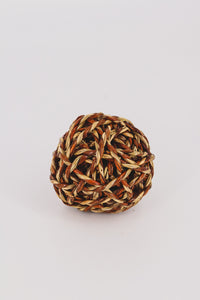 Natural Fiber Woven Orb 2 - JQ Clothing Co. - Oakes, ND