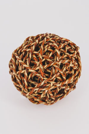 Natural Fiber Woven Orb 3 - JQ Clothing Co. - Oakes, ND