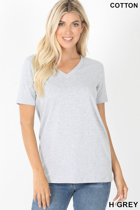 Basically Perfect V-Neck Tee