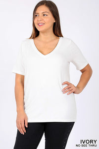 The Curvy Basic Top