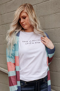 Love Is Patient Tee 1 - JQ Clothing Co. - Oakes, ND