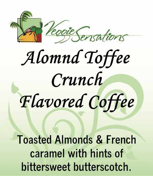 Almond Toffee Crunch Flaovred Coffee