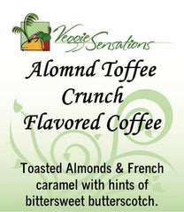 Almond Toffee Crunch Flaovred Coffee - VeggieSensations