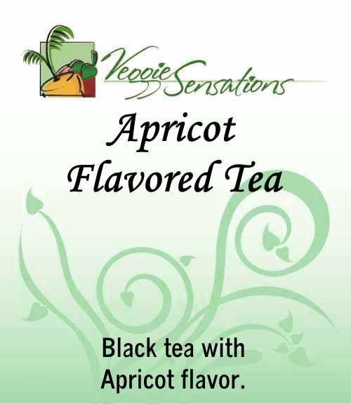 Apricot Flavored Tea - Loose Leaf - VeggieSensations