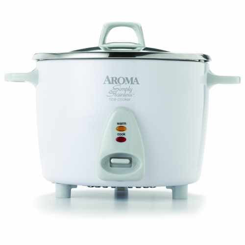Aroma Simply Stainless 14 Cup Rice Cooker ARC-757SG