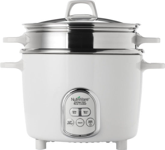Aroma Nutriware 14 Cup Digital Rice Cooker & Food Steamer NRC-687SD - VeggieSensations