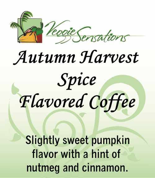 Autumn Harvest Spice Flavored Coffee
