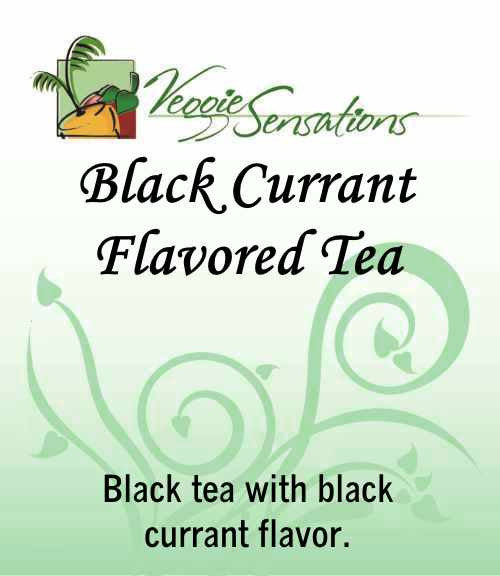 Black Currant Flavored Tea - Loose Leaf