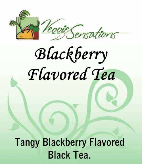 Blackberry Flavored Tea - Loose Leaf