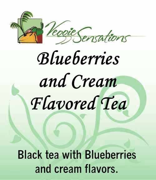 Blueberries and Cream Flavored Tea - Loose Leaf