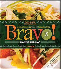 Bravo! Vegan Cookbook by Chef Ramses Bravo - VeggieSensations