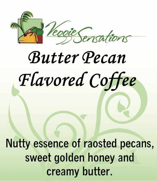 Butter Pecan Flavored Coffee - VeggieSensations