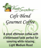 Cafe Blend Gourmet Coffee - Light Medium Roast - VeggieSensations