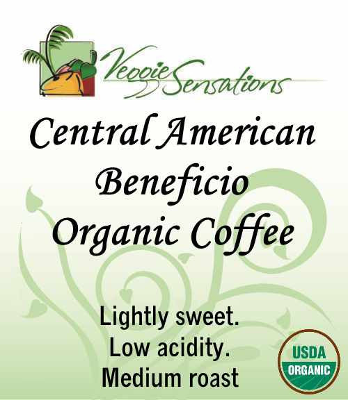 Central American Beneficio Organic Coffee - Medium Roast - VeggieSensations
