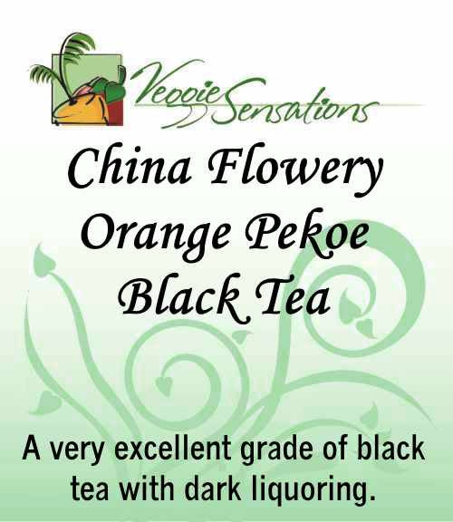 China Black Flowery Orange Pekoe Tea - Loose Leaf