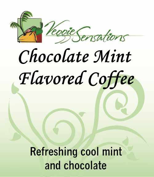 Chocolate Mint Flavored Coffee - VeggieSensations