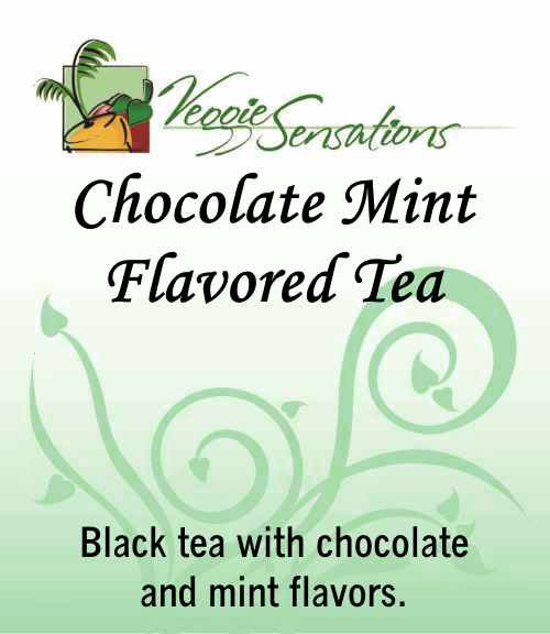 Chocolate Mint Flavored Tea - Loose Leaf