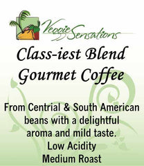 Class-iest Blend Gourmet Coffee - Medium Roast - VeggieSensations