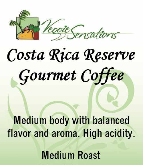 Costa Rica Reserve Gourmet Coffee