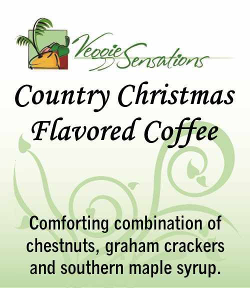 Country Christmas Flavored Coffee - VeggieSensations