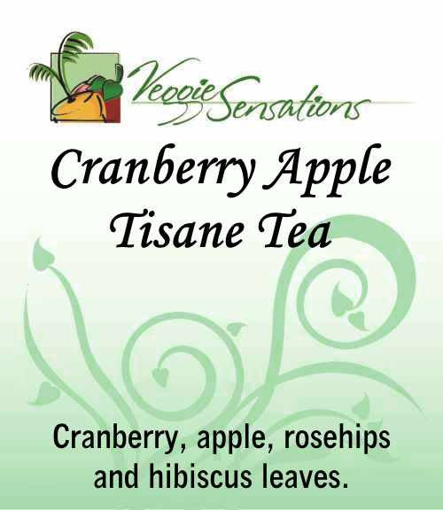 Cranberry Apple Tisane - Loose Leaf - VeggieSensations
