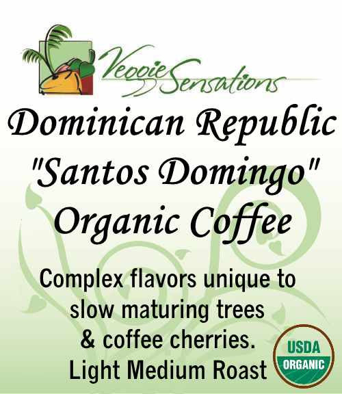 Dominican Republic 'Santo Domingo' Organic Coffee