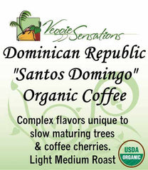 Dominican Republic 'Santo Domingo' Organic Coffee - VeggieSensations