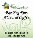 Egg Nog Rum Flavored Coffee - VeggieSensations