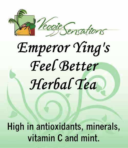 Emperor Ying's Feel Better Herbal Tea - Loose Leaf - VeggieSensations