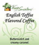 Englilsh Toffee Flavored Coffee - VeggieSensations