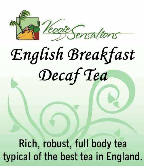 English Breakfast Decaf Tea - Loose Leaf - VeggieSensations