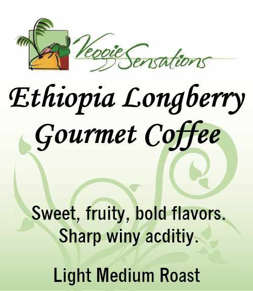 Ethiopia Longberry Gourmet Coffee