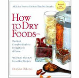 How to dry Foods Dehydrator Book by Deanna DeLong - VeggieSensations
