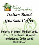 Italian Blend Gourmet Coffee -  Dark Roast - VeggieSensations