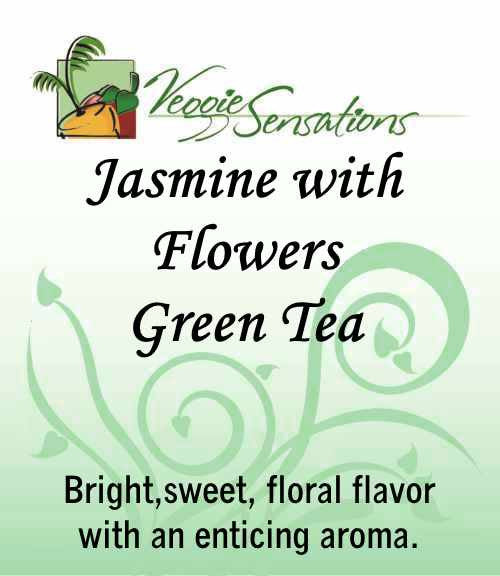 Jasmine with Flowers Green Tea - Loose Leaf