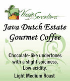 Java Dutch Estate Gourmet Coffee - VeggieSensations