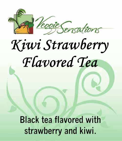 Kiwi Strawberry Flavored Tea - Loose Leaf