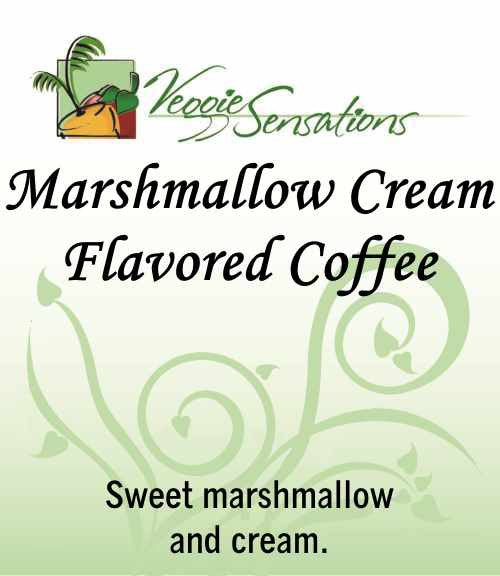 Marshmallow Cream Flavored Coffee - VeggieSensations