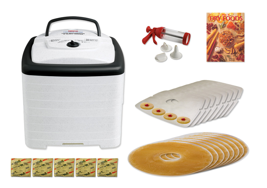 Nesco SnackMaster FD-80HWKIT Food Dehydrator with Jerky Kit