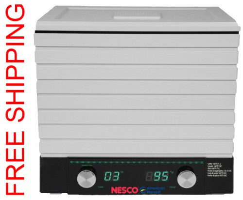 Nesco Square Dehydrator Digital FD-2000 6 Trays