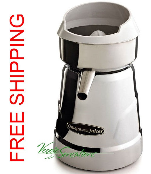 Omega Pro Citrus Juicer C-20C Chrome - FREE SHIPPING